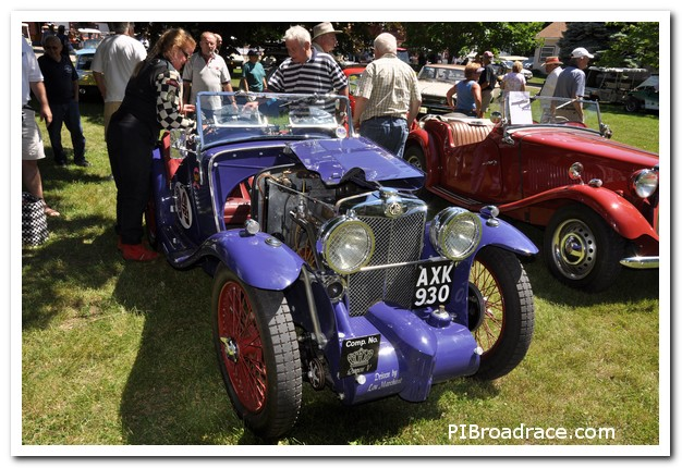 Lou Marchant Supercharged MG J2